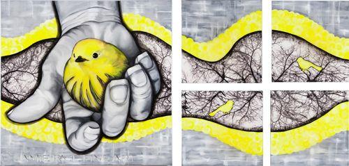 """Bird In Hand"" Jamie Rice"