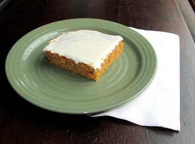 Cooking with Carlee: Grandma Rees' Frosted Pumpkin Squares