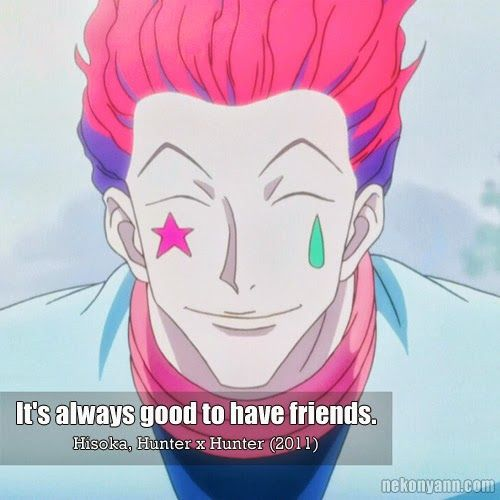 Image result for hisoka quotes