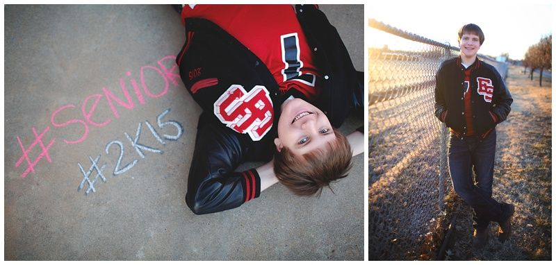 Erin Kata Photography Senior Letter Jacket Senior Guy High
