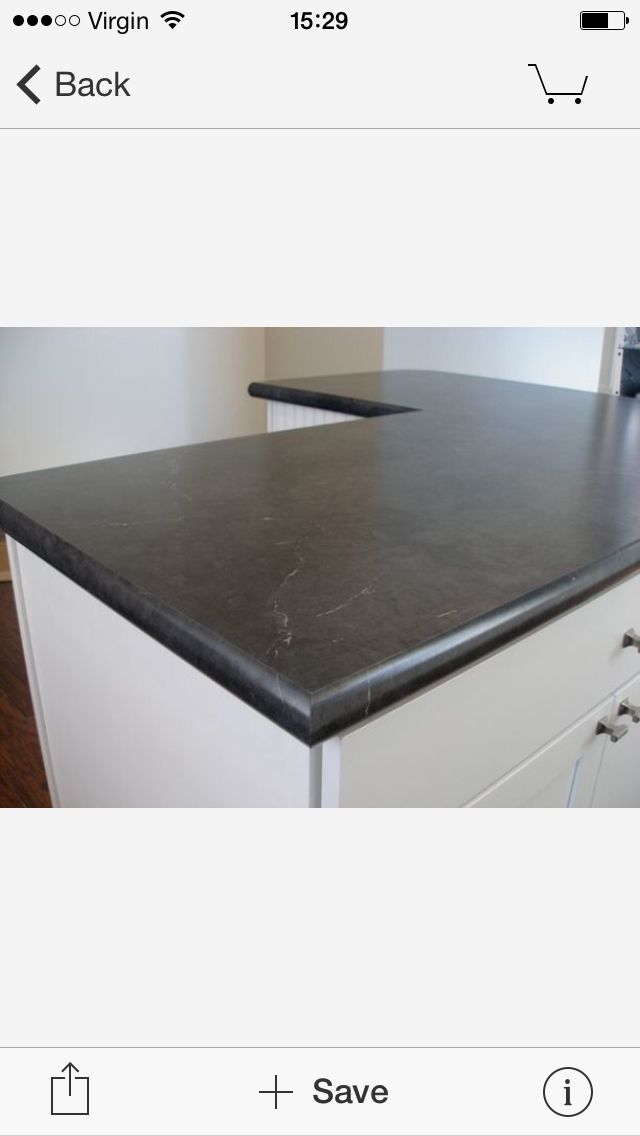 Black Alicante High Definition Formica By Wilsonart Kitchen