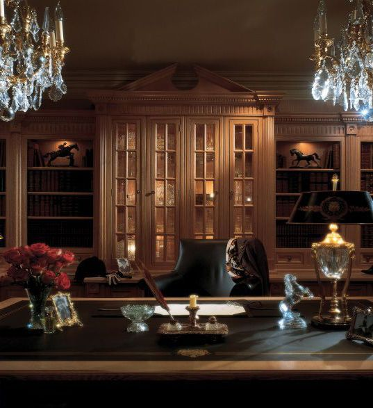 Clive Christian Classic Victorian Study in Oak The Modern Man Cave