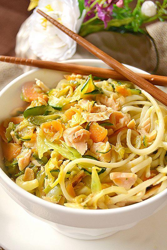 Dolci a go go: Cucine dal mondo/Noodles con verdure saltate e ...
