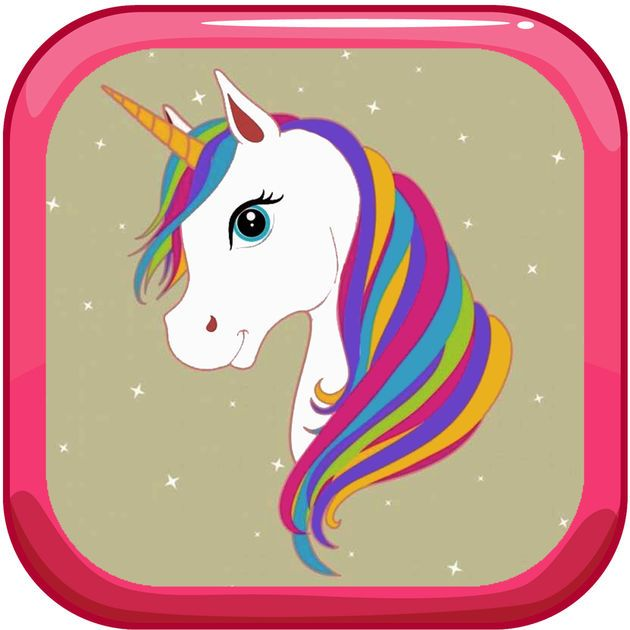 New Ios App Paint Tiny Unicorn Games Coloring Pages Thana Chamnarnchanarn Unicorn Games Panda Wallpapers Coloring Pages