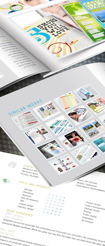 Designer Portfolio Indesign Template Indesign Templates Indesign Indesign Tutorials