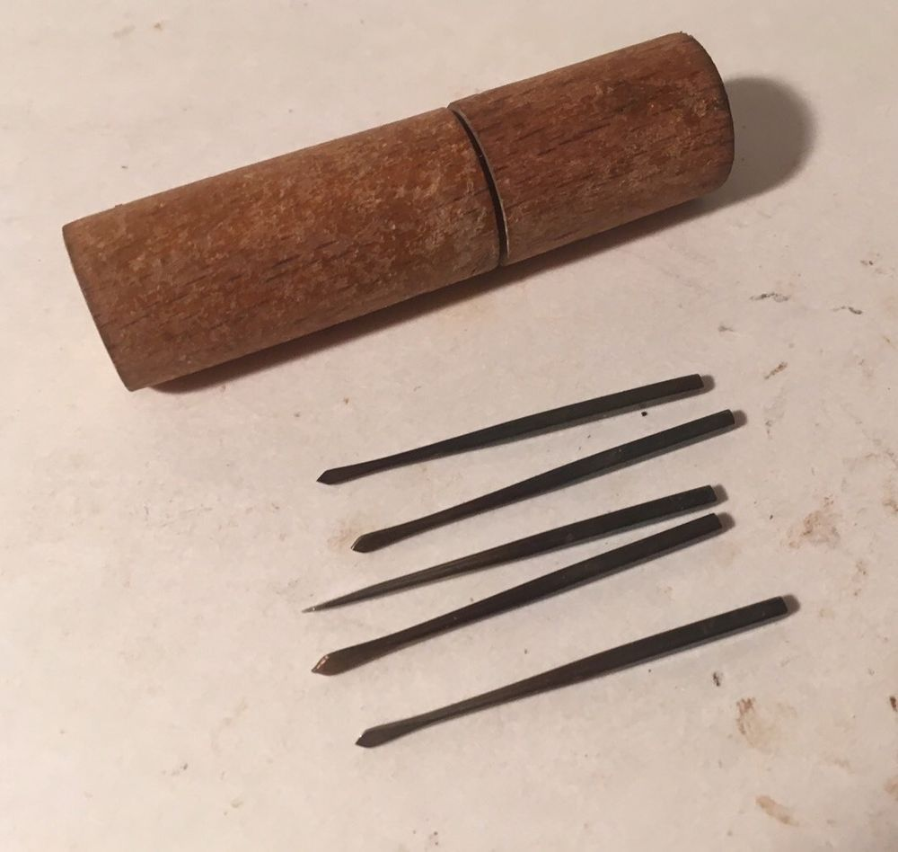 Antique Set Of Spade Drill Bits For Jewelers Bow Drill Tool Watchmaker Rare Fine Ebay Drill Ebay Drill Bits