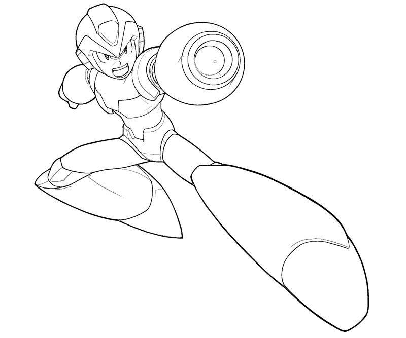 24 Elegant Image Of Megaman Coloring Page