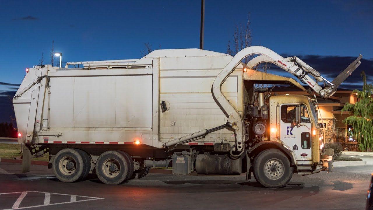 Peterbilt 320 Heil Durapack Half Pack Garbage Truck Garbage Truck Rubbish Truck Trucks