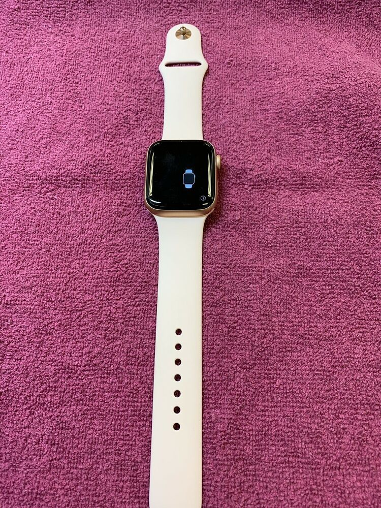 detailed look c4d6f a1520 Apple watch series 4 44mm GPS Cellular Aluminum Case with Pink Sand ...