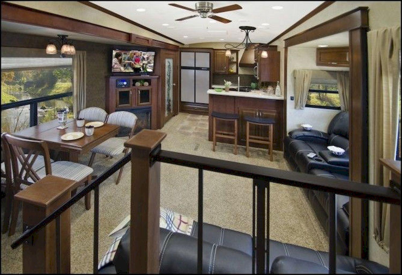 40 Best RV Living 5th wheels Interior Ideas Decoration