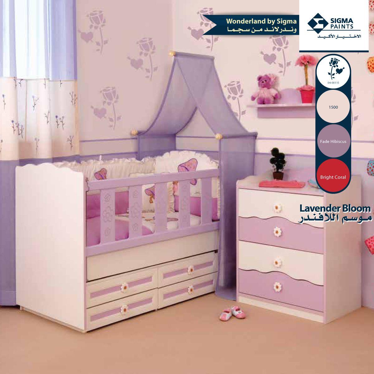 ألوان البنفسجي ظلال مذهلة في غرفة النوم اذا استعملت درجة أزهار البنفسج الطبيعية السعودية ديكور Pur Kid Room Decor Bedroom Decor Decorate Your Room