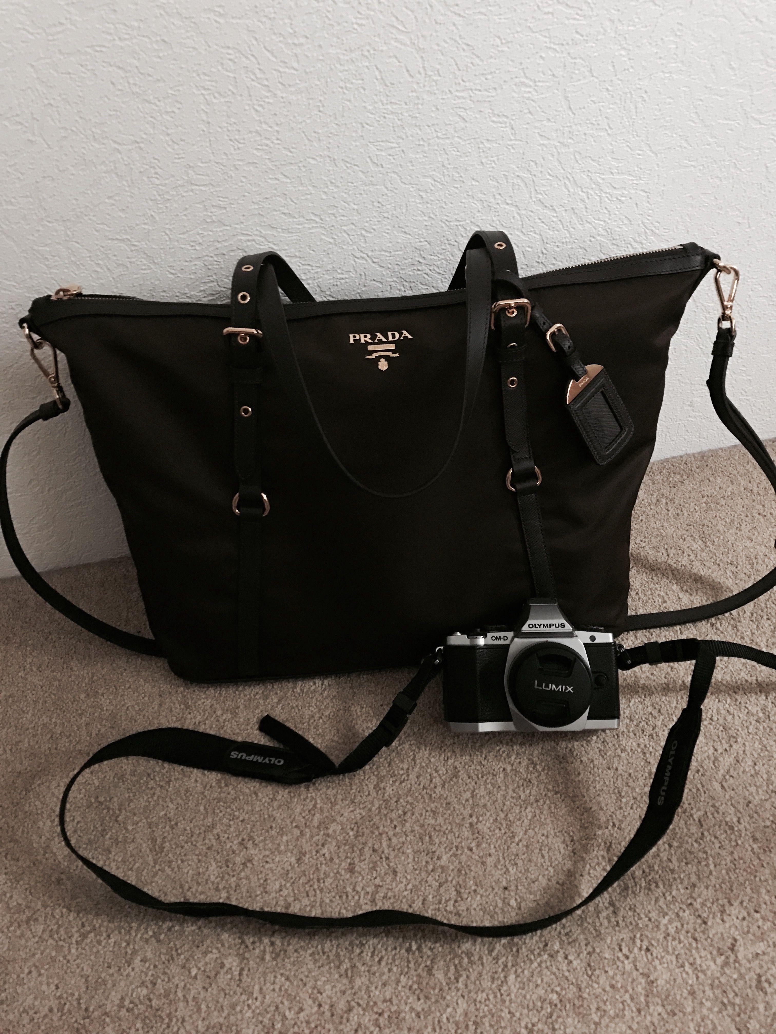 0ccc1092c5 ... low price prada tessuto nylon saffiano bag my go to bag especially when  traveling.. ...