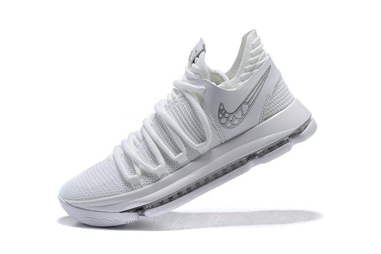 best service 5d68c dd7e7 Factory Authentic Nike Kd 10 Platinum Tint Vast Grey White Shoe