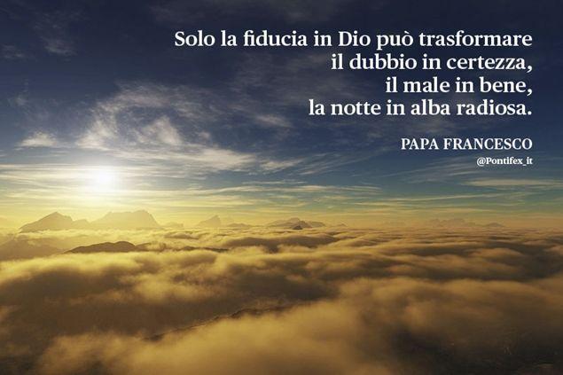 (11/04/2014) Fiducia in Dio