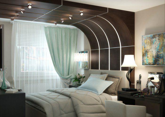 Moderne Schlafzimmergestaltung ~ Schlafzimmergestaltung inneneinrichtung einrichtungsideen