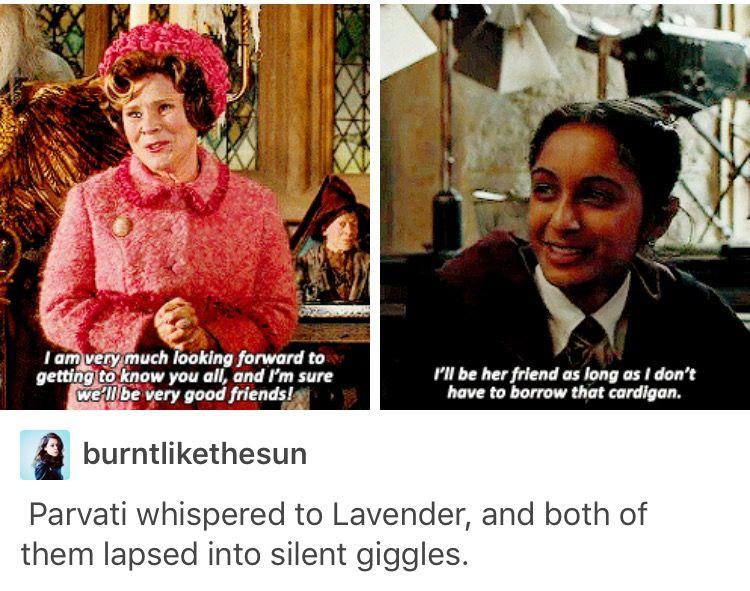 Lavender Brown Parvati Patil Harry Potter Hp Harry Potter Universal Harry Potter Obsession Harry Potter Funny