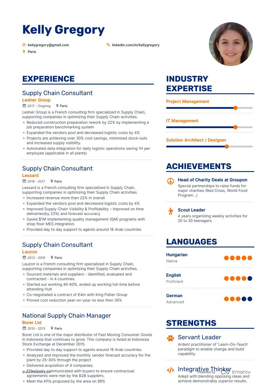 Supply Chain Analyst Resume 8Step Ultimate Guide for