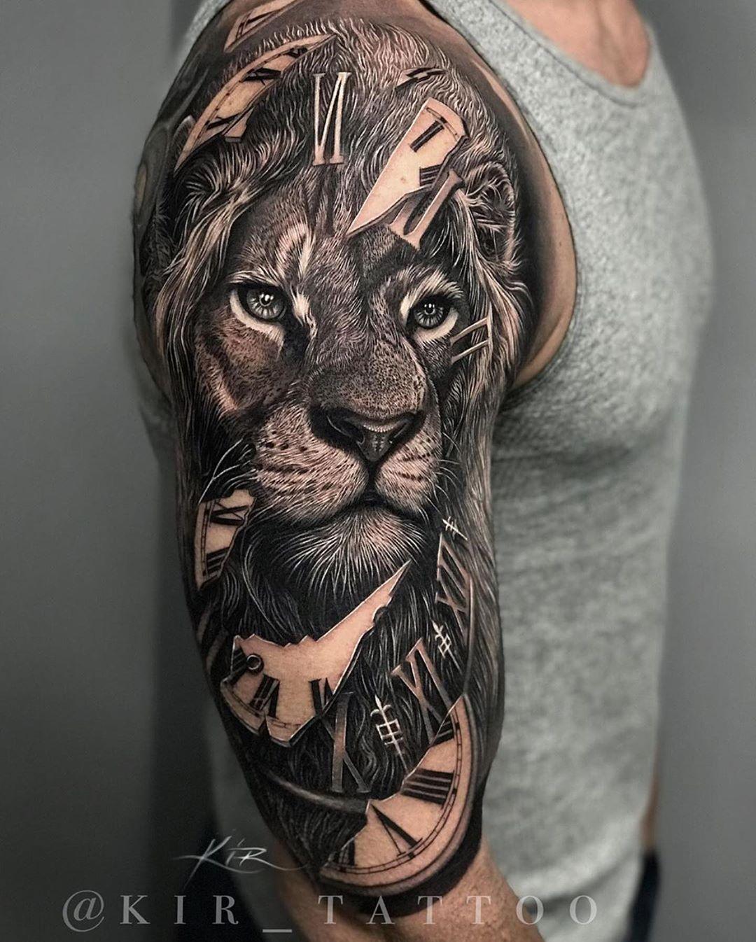 Fantastic Tattoos The Most Interesting Tattoo Ideas 20 Creative Tattoo Designs Fantastic Tattoos The In 2020 Lion Tattoo Sleeves Creative Tattoos Lion Tattoo