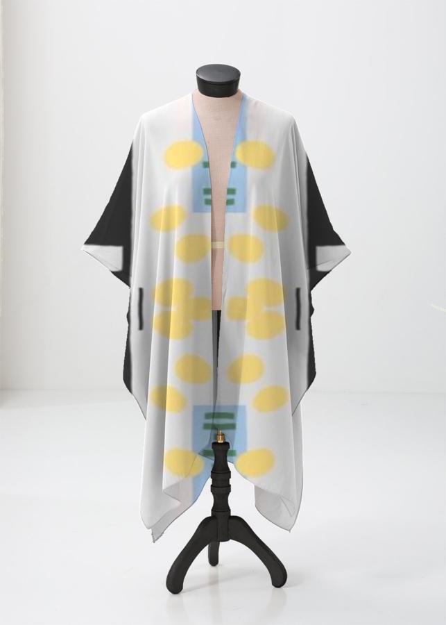 Sheer Wrap - abstracto sheerwrap by VIDA VIDA JiX7pu7i