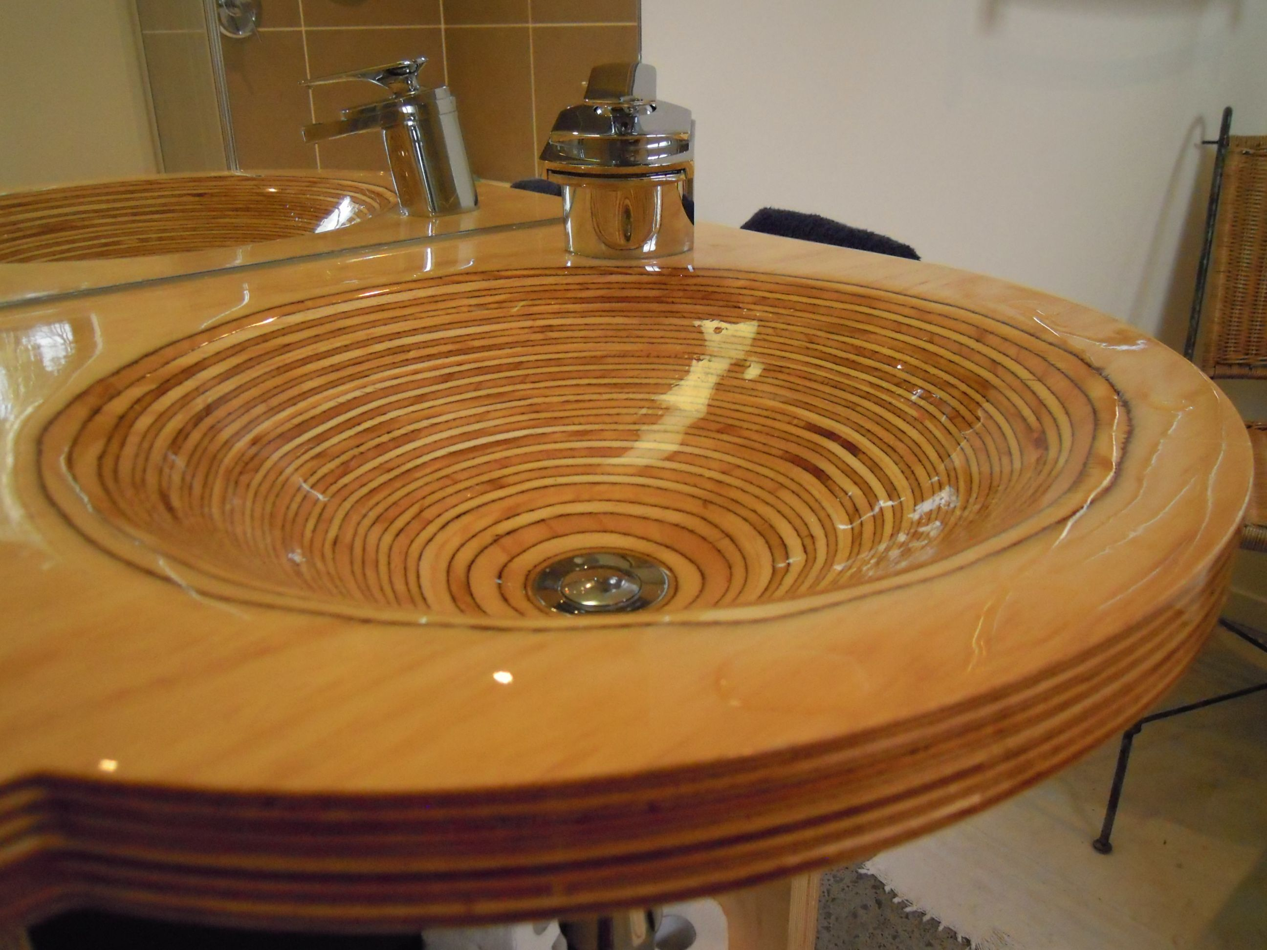 how to laminate plywood