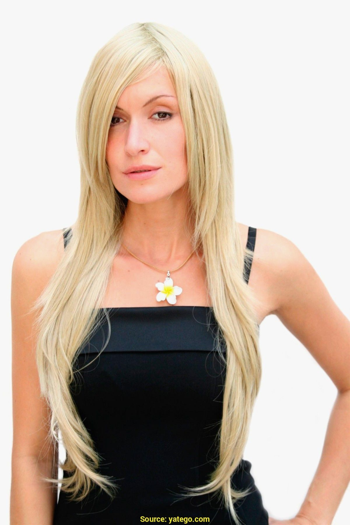 Frisuren Fur Lange Glatte Haare Hair Style Women Pinterest
