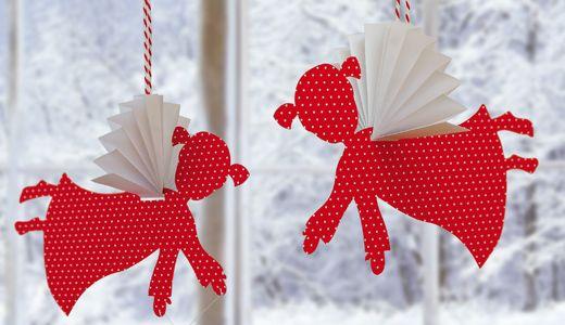 ein engel zum selber basteln weihnachten christmas. Black Bedroom Furniture Sets. Home Design Ideas
