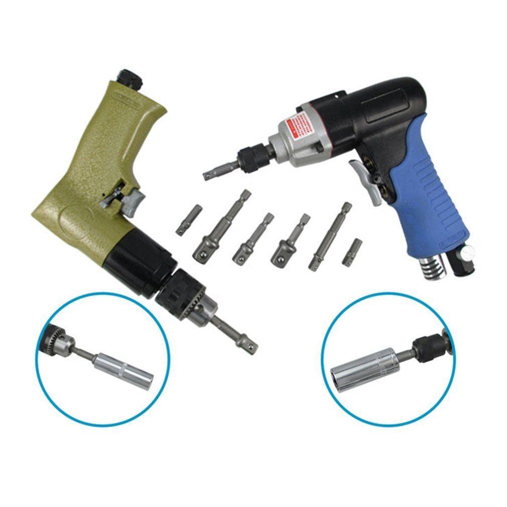 3pcs Socket Bits Adapter Set Hex Shank Impact Drill Driver Bar Wrench Extension