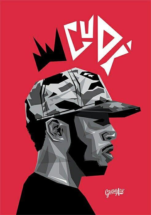3d0b720f Kid Cudi   ART   Kid cudi wallpaper, Rapper art, Kid cudi poster