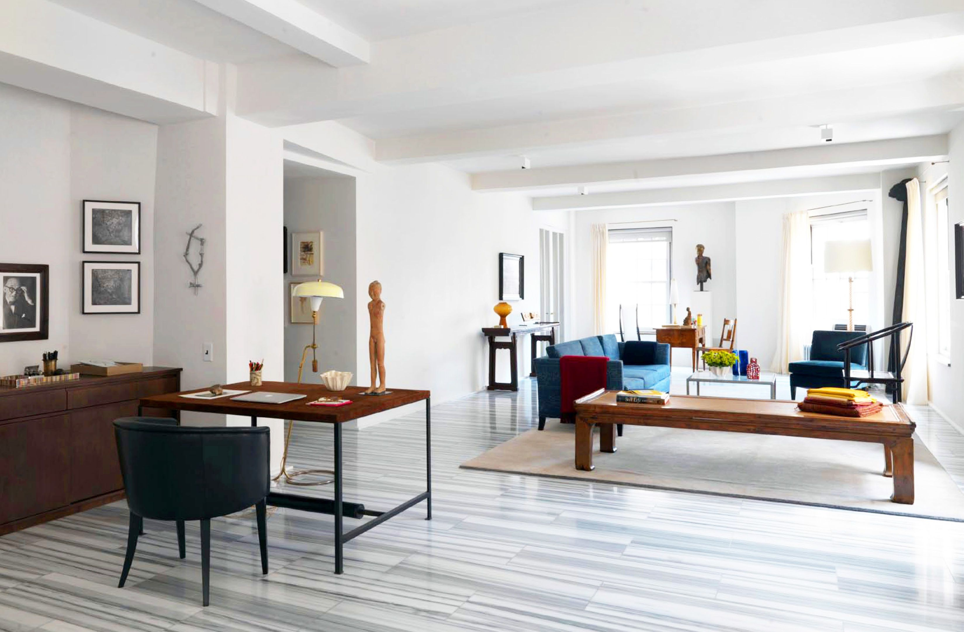 Floors - Selldorf Architects :: Fifth Avenue Apartment | Modern ...