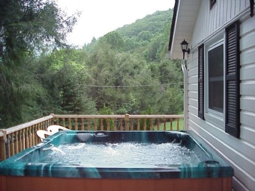 Blevin's Beech House - Hot Tub