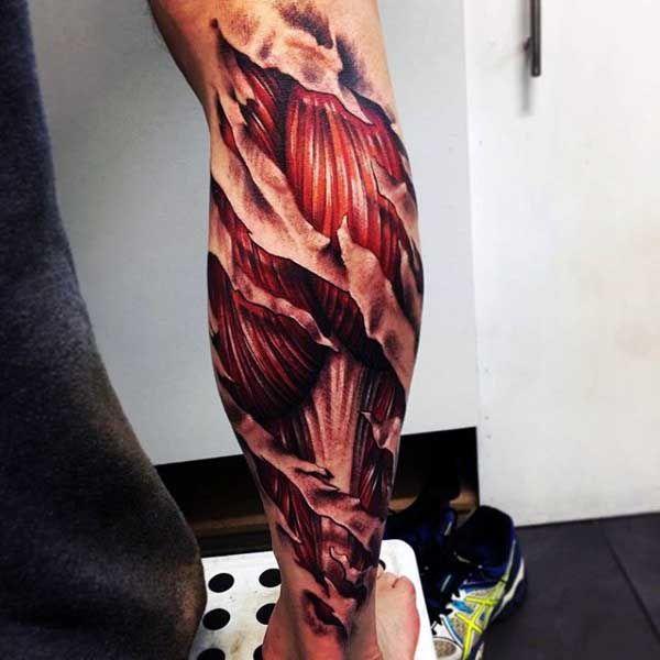 Top 49 Ripped Skin Tattoo Ideas 2021 Inspiration Guide Ripped Skin Tattoo Skin Tear Tattoo Tattoo Designs Men