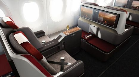 Lan Tam Reveal New Airbus A350 Boeing 787 9 Seats Cabins Airplane Interior Aircraft Interiors Private Jet Interior