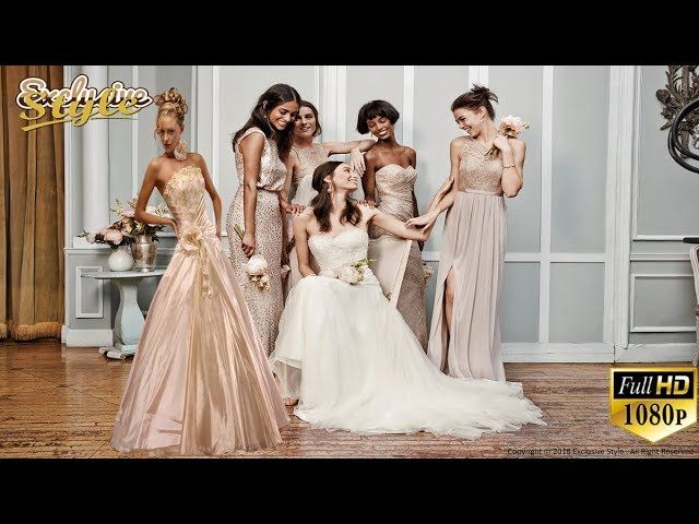 803a997784 260+ Most Beautiful Gorgeous and Elegant Bridesmaids Dresses for 2020  Wedding Album Collection