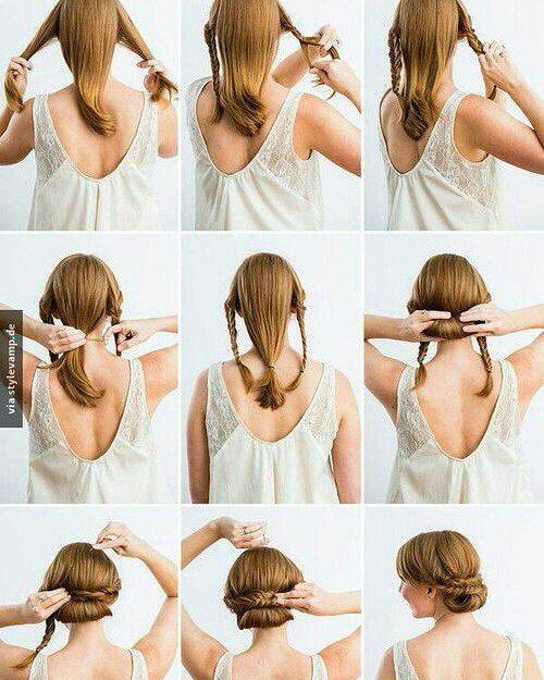 Cantik Diy Do It Yourself Di Instagram Mau Ke Pesta Dan Sanggul Sendiri Tanpa Repot Ke Salon Gaya Rambut Kepang Pendek Gaya Rambut Balita Gaya Rambut Wisuda