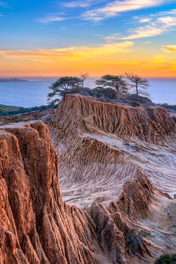 Sunset At Torrey Pines State Park California By Eric Groeger 500px