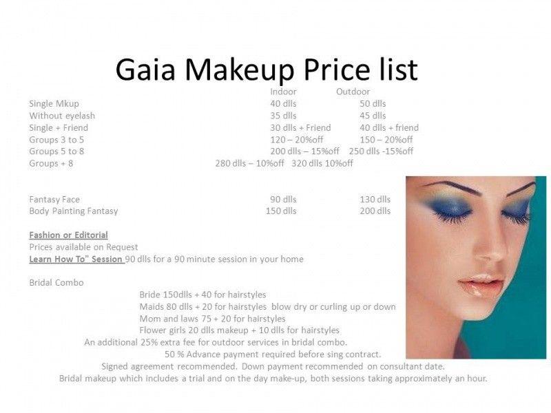 10 Makeup Artist Services | Sample Resumes | Sample Resumes ...