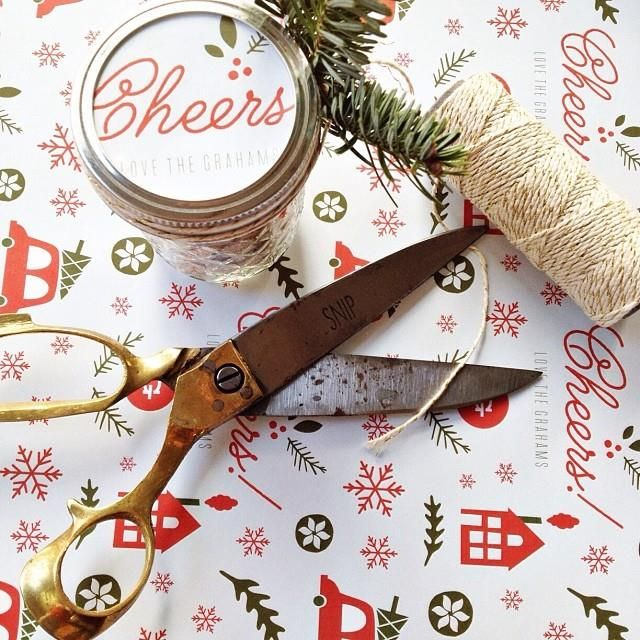 Discover creative ways to use your personalized holiday gift wrapping paper from Minted.
