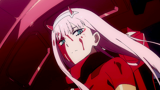 Zero Two Zero Two Darling In The Franxx Anime Wallpaper