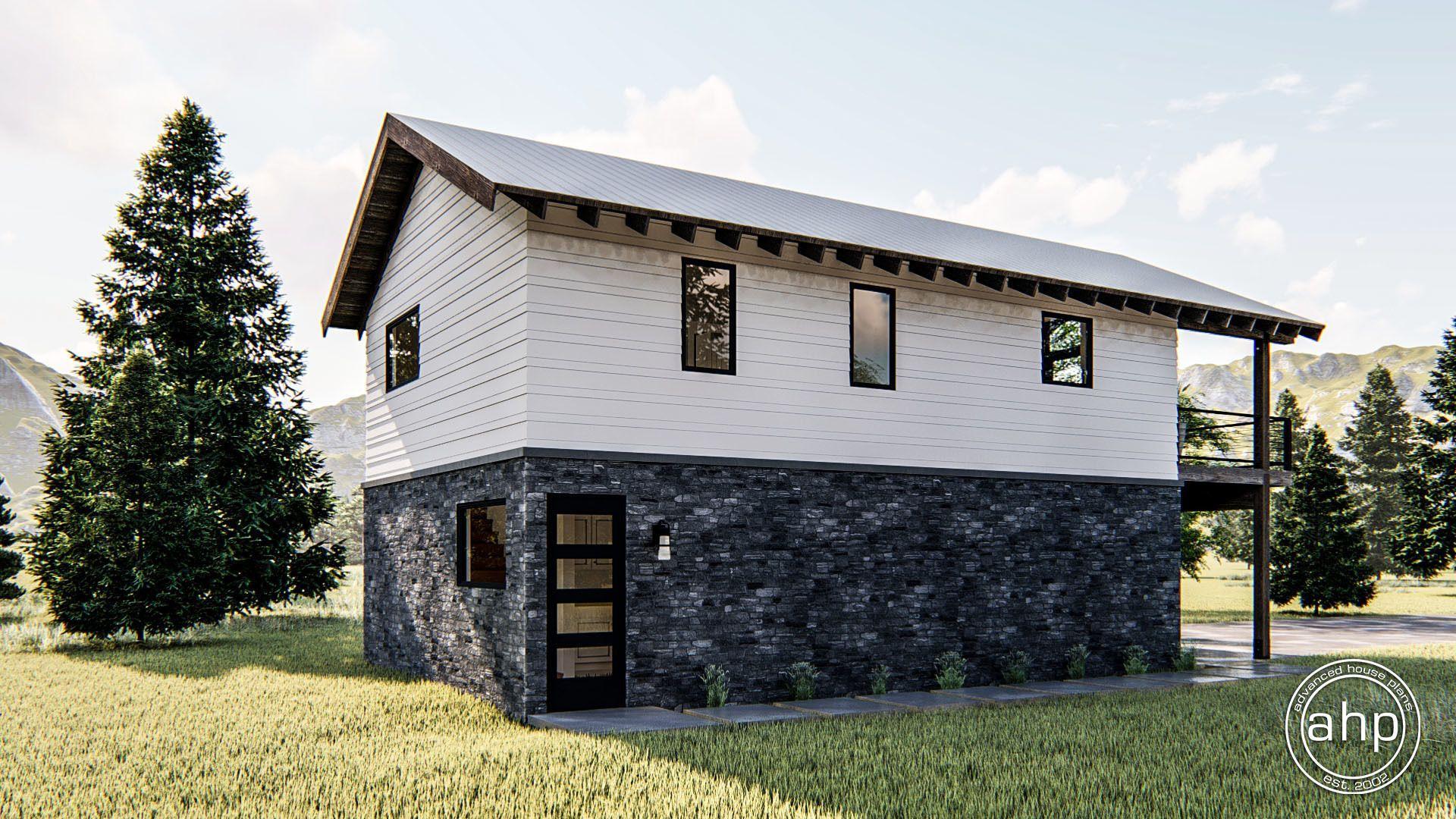 Modern Rustic Style Apartment Garage Arapahoe Garage Door Design Metal Building Homes Lake Houses Exterior