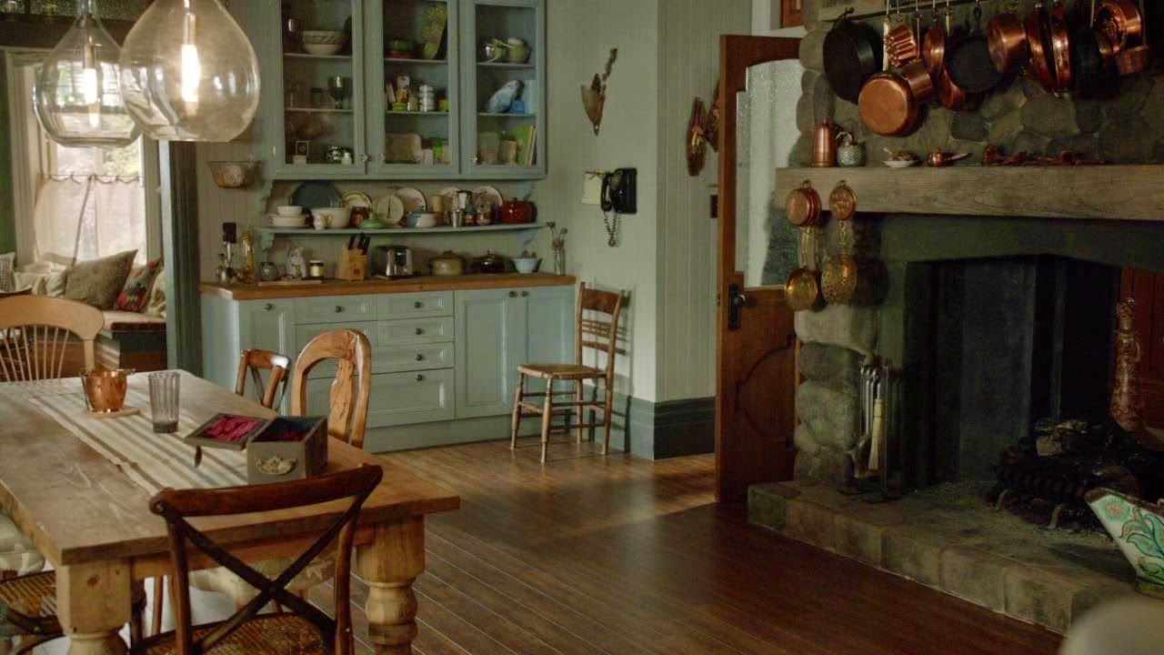 A different angle in the kitchen from Witches of East End ...
