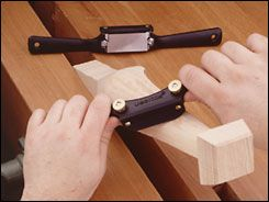Veritas® Low-Angle Spokeshave - Woodworking