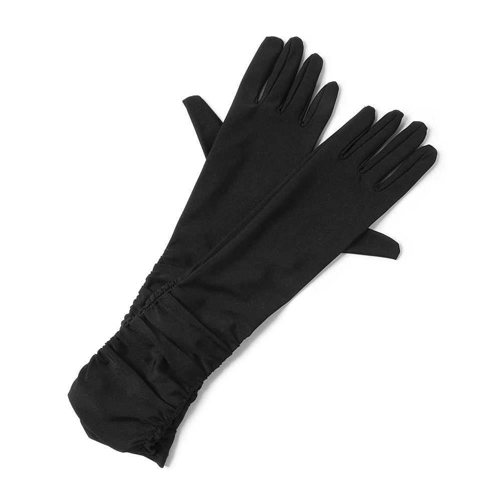 Claires black gloves -