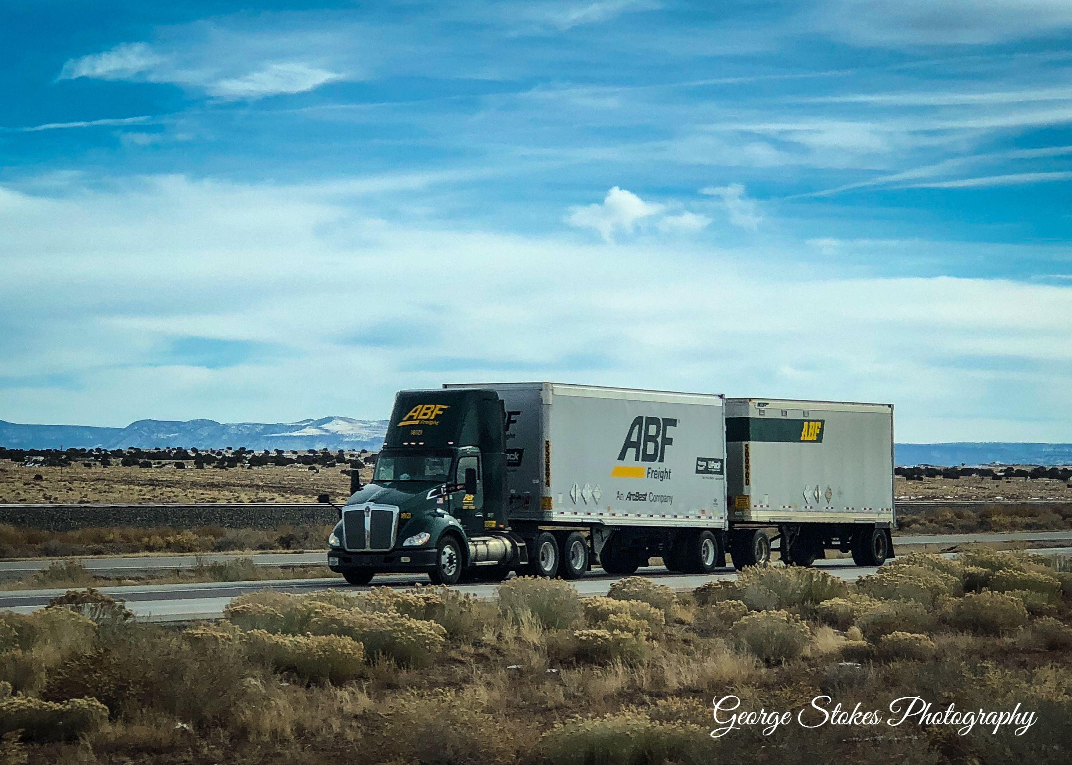 Abf freight kenworth kenworth show trucks road train
