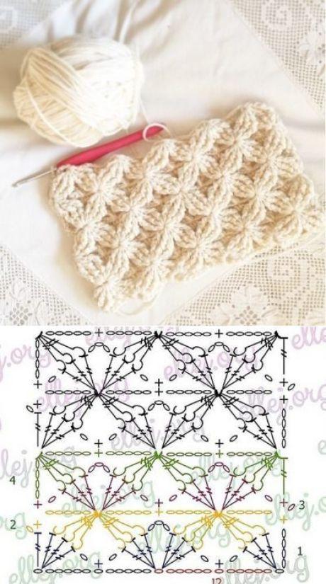 Узор - Все своими руками | Crochet | Pinterest | Ganchillo, Tejido y ...