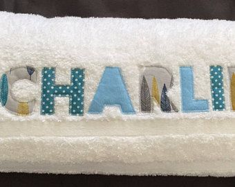 Personalised towel for boy baby child christmas baby gift personalised towel for boy baby child christmas baby gift childrens birthday negle Choice Image