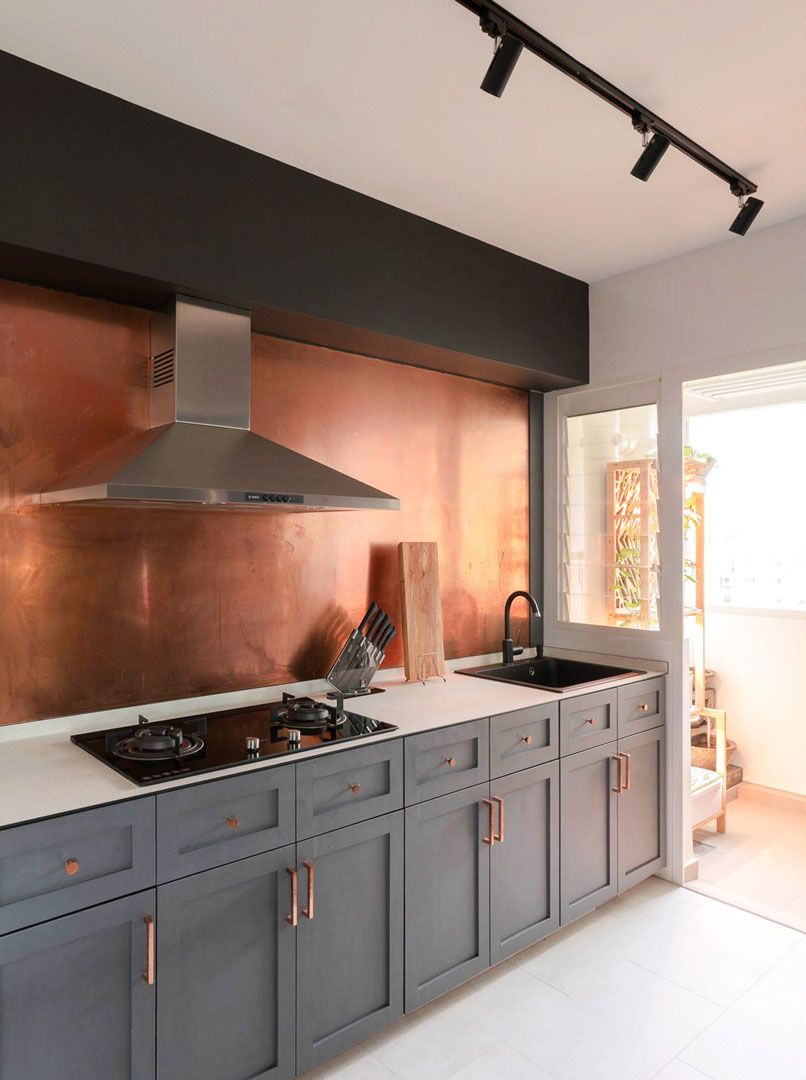 8 Unusual Kitchen Backsplash Ideas That Are Not Tiles Or Glass