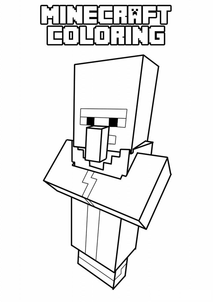 Minecraft Coloring Pages Enderman 4 Jpg 723 1024 Minecraft Coloring Pages Coloring Pages For Kids Printable Coloring Pages