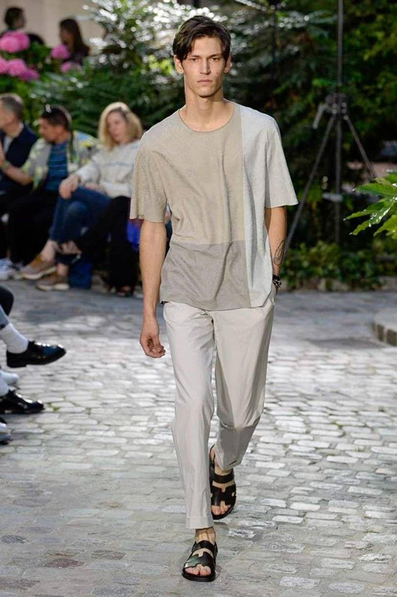 5034fd2ac598 Hermes SS19   The look I love   Pinterest   Menswear, Mens fashion ...