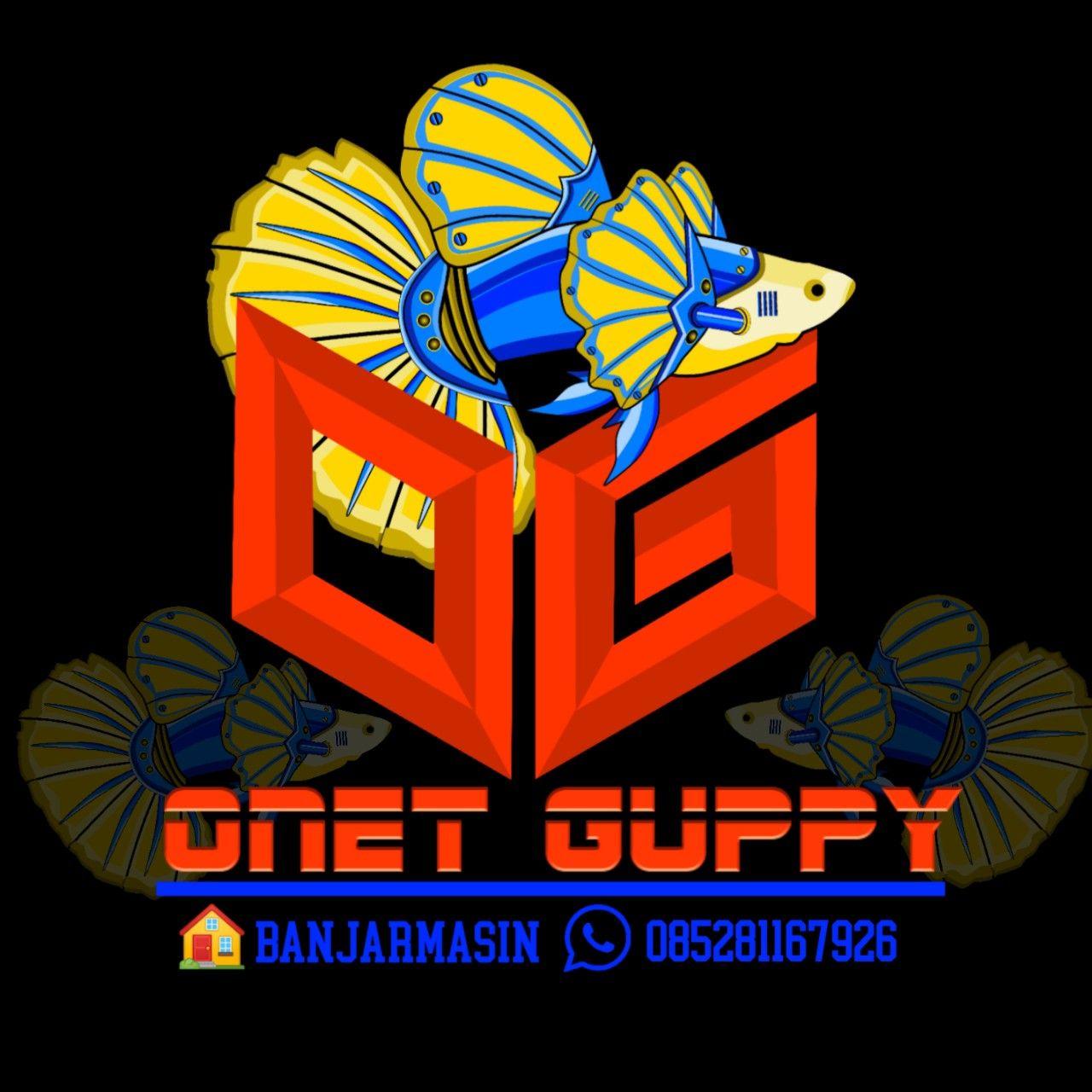 Guppy Robot Desain Banner Desain Logo Bingkai Foto