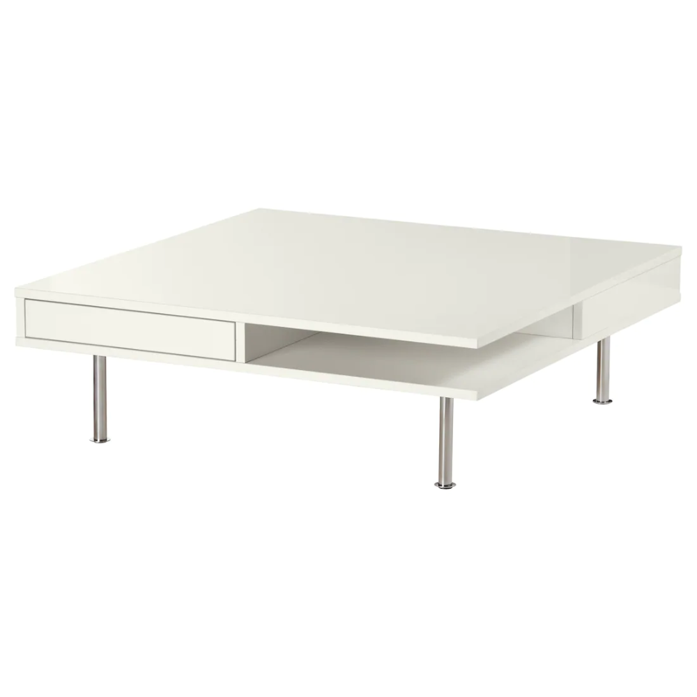 Tofteryd Coffee Table High Gloss White 37 3 8x37 3 8 Ikea Coffee Table High Gloss Ikea White Side Table Coffee Table White [ 1000 x 1000 Pixel ]